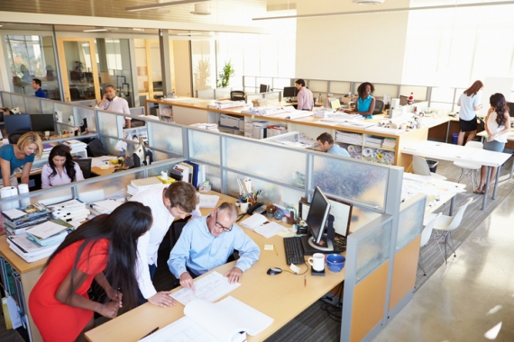 Open Office Benching Solutions in Philadelphia